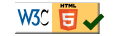 HTML5 approved by www.w3c.org